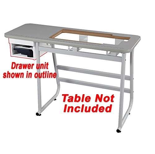 Janome Drawer and Shelf for Universal Sewing Table ()