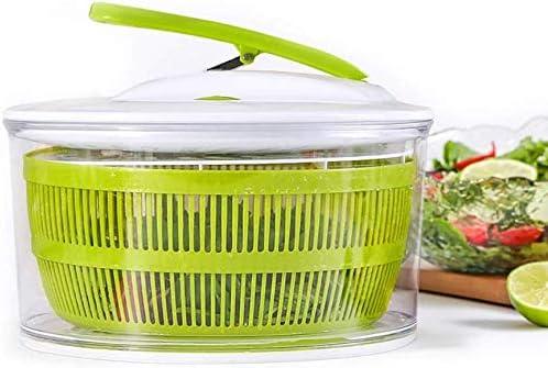 Aich Fruit and Vegetable Salad Spinner Household Fruit and Vegetable Salad Decanter Kitchen Vegetable Dehydrator Filter Basket Fruit Drain Basket