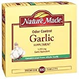 Nature Made Odor Control Garlic 1,250 mg Garlic Equivalent – 300 Tablets Review