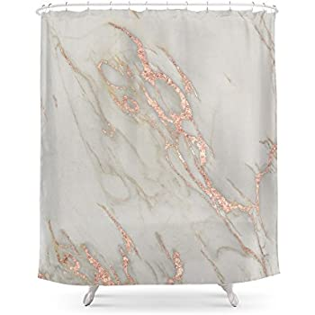 Amazon Society6 Gold Marble Shower Curtain 71 By 74 Jenna
