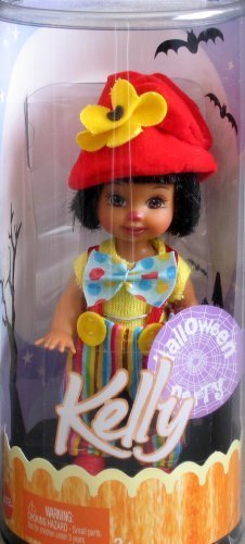 Mattel Barbie - Kelly - Halloween Party - Kelly AA Doll as a Clown 2005 ()