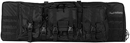 Valken 46-Inch Double Rifle Gun Case, Black