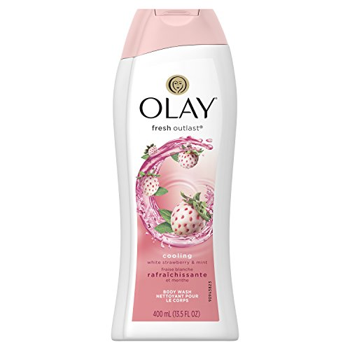 Olay Fresh Outlast Body Wash - Cooling White Strawberry & Mint - 13.5 oz