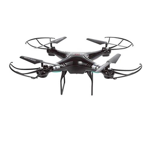 Dreamyth X51W 2.4G Altitude Hold HD Camera Quadcopter RC Drone 2MP WiFi FPV Drone Hover Practical (black) by Dreamyth