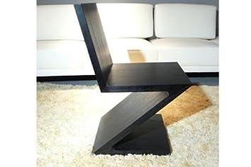Sillón Gerrit Thomas Rietveld, MDF con piel de madera de ...