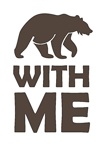 Bear With Me Icon Motivational Sign - Aluminum - Me Bear Stores