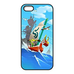 The Legend Of Zelda The Wind Waker Game iPhone5s Cell Phone Case Black DAVID-200658