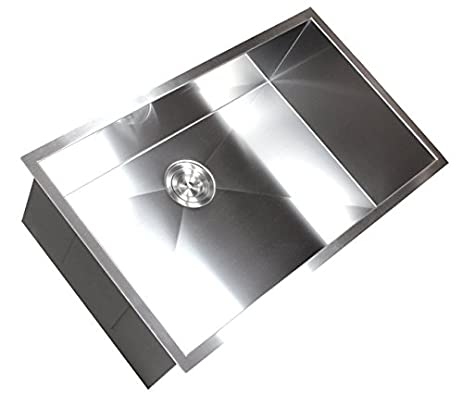 36 u0026quot  x 19 u0026quot  single bowl undermount kitchen sink 36   x 19   single bowl undermount kitchen sink     amazon com  rh   amazon com