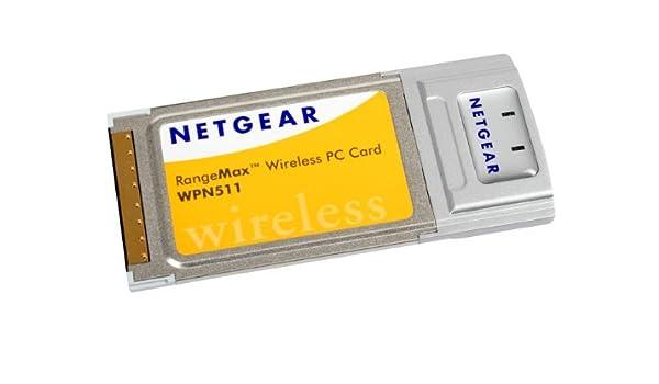 Netgear wpn511 rangemax wireless pc card: amazon. Ca: electronics.