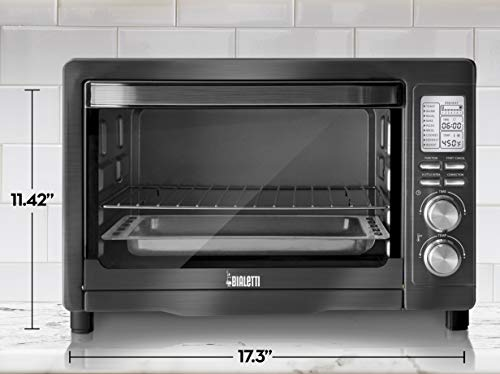 Bialetti (35047) 6-Slice Convection Toaster Oven, Black Stainless Steel by Bialetti (Image #5)