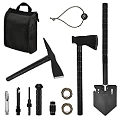 IUNIO All-in-one Survival Tool KitIt is designed and produced with the sports and outdoor enthusiast in mind, assembling practicability, functionality and security in it. Throw it in your bug-out bag, off-roading, hunting, camping, hiking or ...