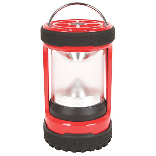 Coleman Company Conquer Push 450 lm LED Lantern, Red Black