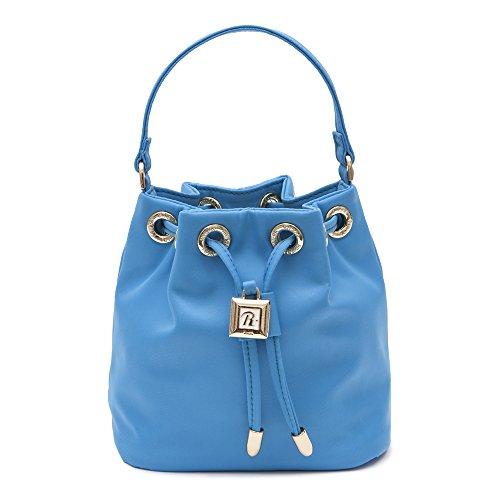 O A Azzurra Bucket Tracolla Blu Rivierina Gialla Bianca Secchiello Fz0WSgnx