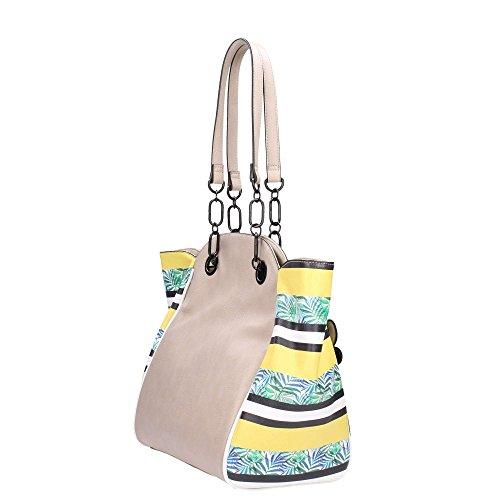 Le Pandorine CLASSIC MINI 2.0 Taschen Frau Beige xhtbjEOqd