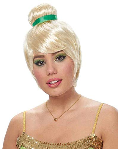 Costume Culture Womens Tinkerbell Blonde Fairy Wig