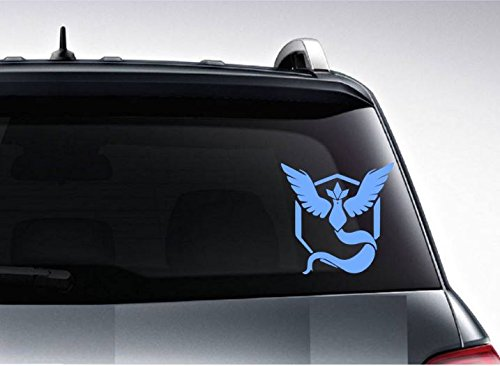 Amazon.com : Pokemon Go Team Mystic Vinyl Decal for iPhone, Laptop, Wall, Car Bumper : Home Improvement