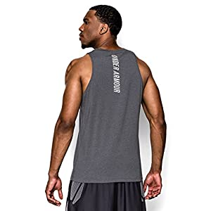 Under Armour Men's Charged Cotton Jus Sayin Too Tank