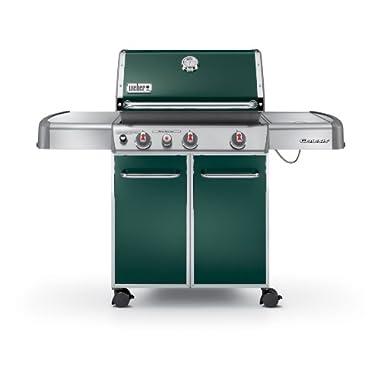 Weber Genesis 6537001 E-330 637-Square-Inch 38,000-BTU Liquid-Propane Gas Grill, Green