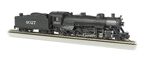 Bachmann Industries Trains Usra Light 2-8-2 Dcc Ready Frisco #4027 with Medium Tender Ho Scale Steam Locomotive