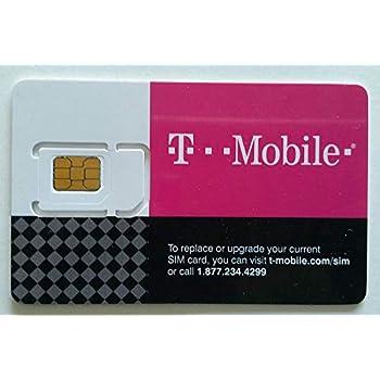 Amazon.com: T-Mobile Prepaid SIM Card Unlimited Talk, Text ...