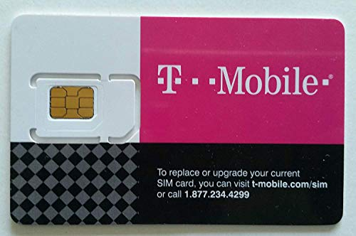 T-Mobile Prepaid SIM Card Unlimited Talk, Text, and Data for 30 days (For use in United States)