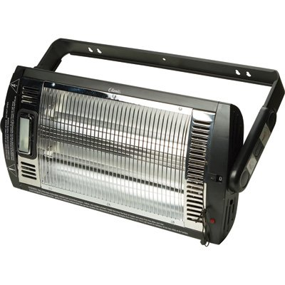 Ceiling-Mounted Workshop and Garage Heater with Halogen Light HQ1500