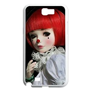 Diy Clown Phone Case for samsung galaxy note 2 White Shell Phone JFLIFE(TM) [Pattern-1] hjbrhga1544