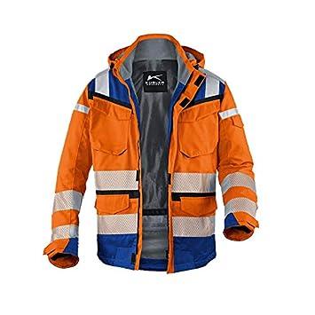 Kübler 13078332 - 3746 XL Clima Chaqueta reflectiq PSA 2, reflectante, color naranja/grano azul, tamaño XL: Amazon.es: Bricolaje y herramientas