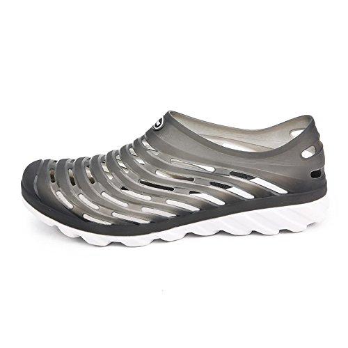 da uomo Vamp EU Outdoor da uomo Hollow taglia fino shoes Nero Dimensione Scarpe e Donna 10MUS Sandali alla Walking Blu Color Zoccoli Jiuyue acqua Scarpe 45 tIPSxwqtz