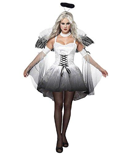 SAKURA-S Angel Adult Costume (Free (Angel Demon Halloween Costumes)
