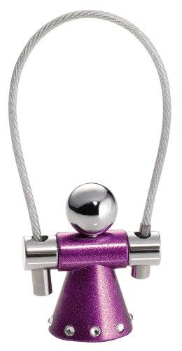 Troika Angel Purple Keyring with Swarovski Elements (KYR85SP)