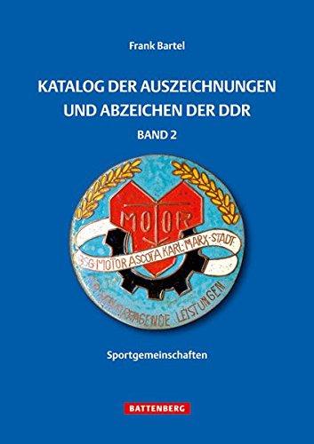 Katalog der Auszeichnungen und Abzeichen der DDR, Band 2: Sportgemeinschaften