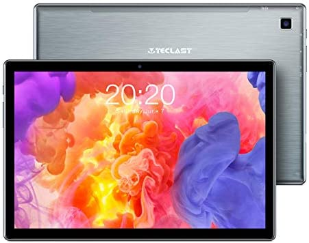 TECLAST Android Tablet 10 inch 4GB RAM+64GB ROM Tablets, P20HD Octa-Core Processor, 1920x1200 FHD IPS 5MP Rear Camera 7mm Narrow Bezel 2.5D Touch Screen BT5.0 2.4G+5G WiFi GPS Type-C