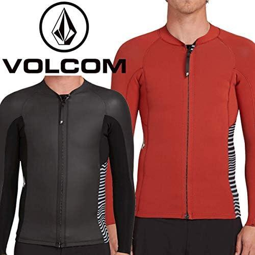 VOLCOM ボルコム ウェットスーツ STONE ZIP JACKET 2mm メンズ フロントジップタッパー サーフィン N1611900 BLK Small