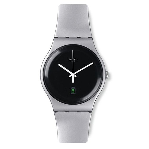 Swatch Originals SUOB401 Silver Plastic product image