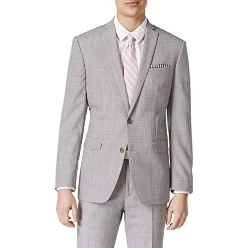 Bar III Mens Slim Fit Wool Sportcoat Gray 36R from Bar III