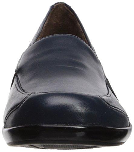 Soul Carryon Flat Navy Women's Natural Loafer qB4qd
