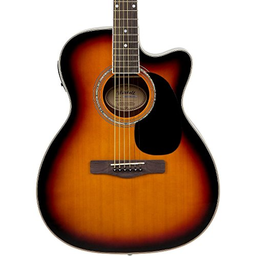 Mitchell MO120CESB Acoustic-Electric Cutaway Vintage - Sunburst Acoustic