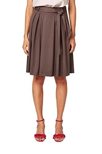 ESPRIT Collection Jupe Femme Marron (Taupe 240)