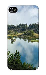 Blackducks HTC One M8 Well-designed Hard Case Cover Mountains Wild Nature Rocks Rivers Lakes Green Protector For New Year's Gift