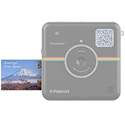 Polaroid 2x3 inch Premium ZINK Photo Paper TWIN PACK (20 Sheets) - Compatible With Polaroid Snap, Snap Touch, Z2300, SocialMatic Instant Cameras & Zip Instant Printer