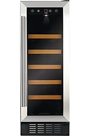 CDA Fwc303 Freestanding Wine Fridge Black 20Bottle (S) A U2013 Wine Cooler  (Independent