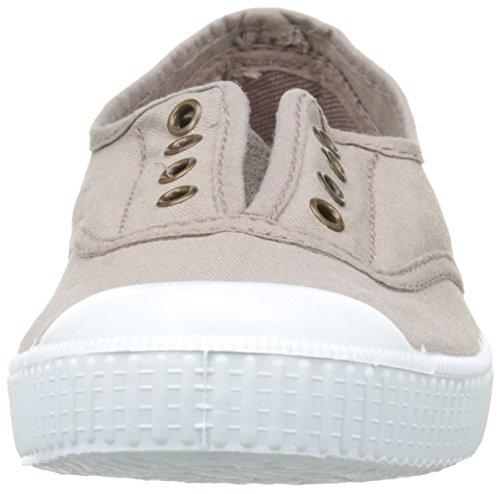Victoria Inglesa Elastico Tenido Punt - Zapatillas de deporte de tela para mujer Marron (88 Stone)