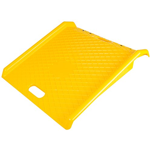 Portable Delivery 800 lb Capacity Poly Curb Ramp