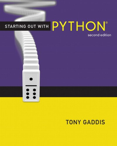 Starting Out with Python plus MyProgrammingLab with Pearson eText -- Access Card Package (2nd Edition) (Gaddis Series) by Brand: Addison-Wesley