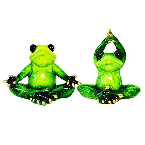 Glazed Yoga Frog YX5050