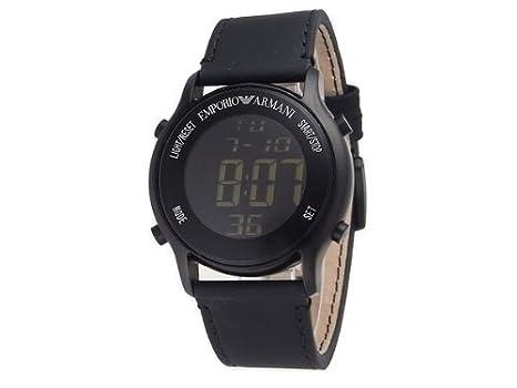 super popular 84713 84fd2 Amazon | エンポリオアルマーニ EMPORIO ARMANI デジタル 腕時計 ...