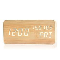 HOMEE Clock-fashion multi-function digital luminous bedroom bedside alarm clock led,W