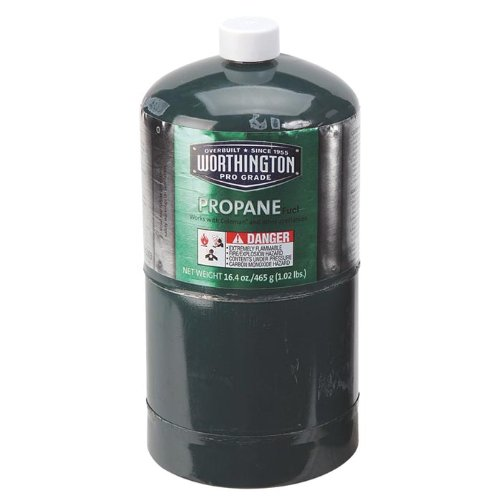 WORTHINGTON CYLINDER CORP Propane Fuel 16.4oz