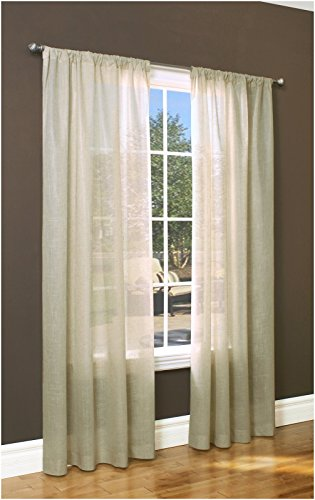 Commonwealth Home Fashions Thermalogic Weathervane Insulated Sheer 50 x 84